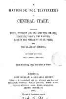 Handbook for travellers in central Italy  by O  Blewitt   PDF