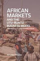 African Markets and the Utu Ubuntu Business Model PDF