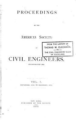Proceedings of the American Society of Civil Engineers PDF