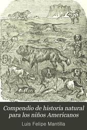 Compendio de historia natural para los niños Americanos