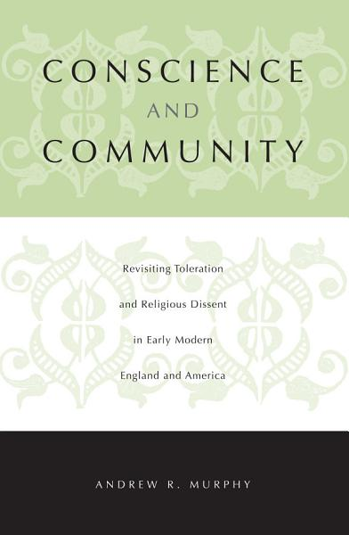 Conscience and Community Pdf Book