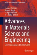 Advances in Materials Science and Engineering PDF