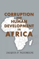 Corruption and Human Development in Africa PDF