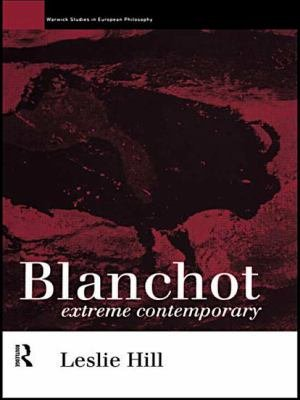 Download Blanchot  Extreme Contemporary Book
