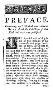 The British Muse, Or, A Collection of Thoughts, Moral, Natural, and Sublime, of Our English Poets: Who Flourished in the Sixteenth and Seventeenth Centuries ...
