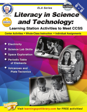 Literacy in Science and Technology  Grades 6   8