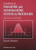Handbook of Parametric and Nonparametric Statistical Procedures PDF