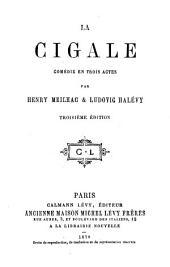 La cigale: comédie en trois actes