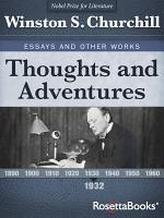 Thoughts and Adventures, 1932