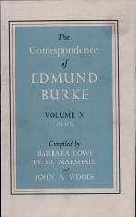 The Correspondence of Edmund Burke: Volume 10, Index