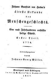 Johann Gottfried von Herder's sämmtliche Werke: zur Religion und Theologie, Bände 5-6