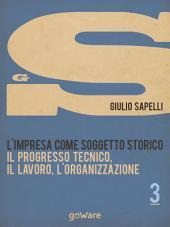 L'impresa come soggetto storico. Il progresso tecnico, il lavoro, l'organizzazione – Vol. 3