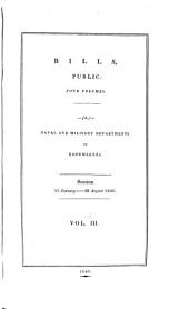 Parliamentary Papers: Volume 3