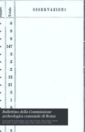 Bullettino della Commissione archeologica comunale di Roma: Volume 18