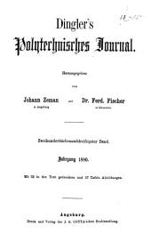 Dingler's polytechnisches Journal: Band 37;Band 237