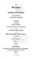 The Works of John Dryden PDF