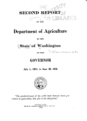 Washington Public Documents: Volume 2
