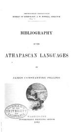 Bibliography of the Athapascan Languages