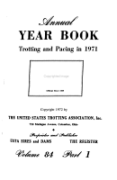Year Book  Trotting and Pacing PDF
