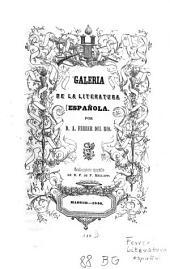 Galería de la literatura española