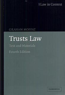 Trusts Law Book
