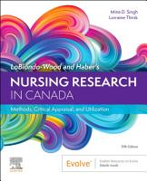 Nursing Research in Canada   E Book PDF