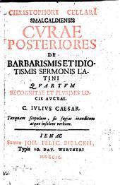 Curae posteriores de Barbarismis