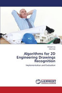 Algorithms for 2D Engineering Drawings Recognition