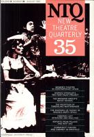 New Theatre Quarterly 35  Volume 9  Part 3 PDF