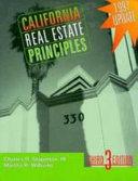 California Real Estate Principles PDF