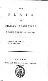 The Plays of William Shakspeare: Volume 17