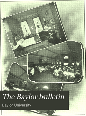 The Baylor Bulletin: Volume 13, Issue 2