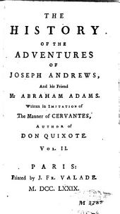 The History of the Adventures of Joseph Andrews, and His Friend Mr Abraham Adams: Volume 2