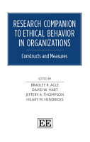 Research Companion to Ethical Behavior in Organizations PDF