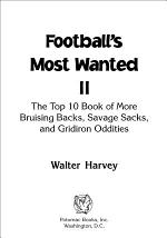 Football's Most Wanted II