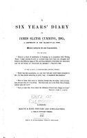 A Six Years  Diary PDF
