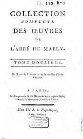 Collection complète des oeuvres de l'abbé de Mably: Volume12
