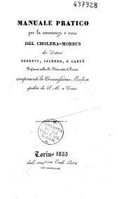 Manuale pratico per la conoscenza e cura del cholera-morbus