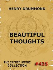 Beautiful Thoughts (Annotated Edition)