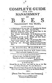 A Complete Guide for the Management of Bees Throughout the Year ...