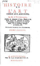 Histoire de l'art chez les anciens: Volume2