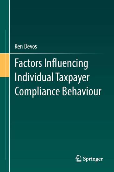 Factors Influencing Individual Taxpayer Compliance Behaviour PDF