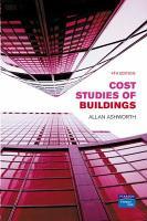 Cost Studies of Buildings PDF