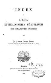 Etymologisches Wörterbuch der romanischen Sprachen: Volume3