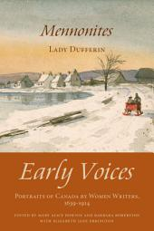 Mennonites: Early Voices — Portraits of Canada by Women Writers, 1639–1914