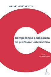 COMPETENCIA PEDAGOGICA DO PROFESSOR UNIVERSITARIO