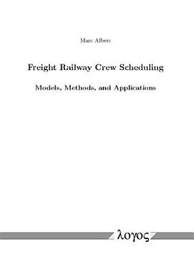 Freight Railway Crew Scheduling