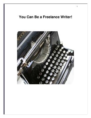 Become a Freelance Writer and Live the Life You Desire