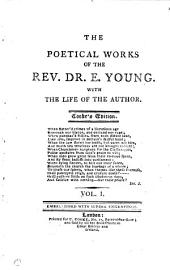 The poetical works of ... E. Young. With the life of the author. Cooke's ed