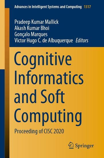 Cognitive Informatics and Soft Computing PDF